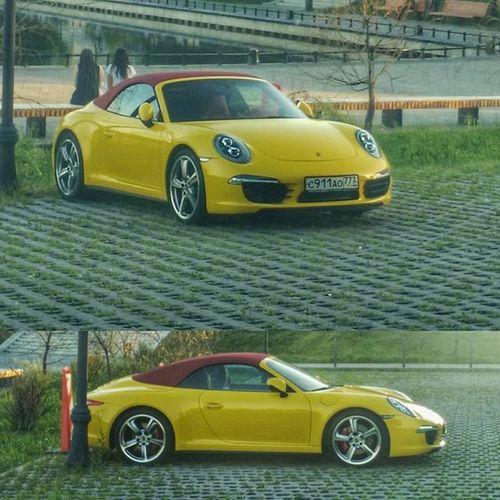 Просто красивая машинка в Останкино останкино Porsche Car Msk Москва машина телецентр