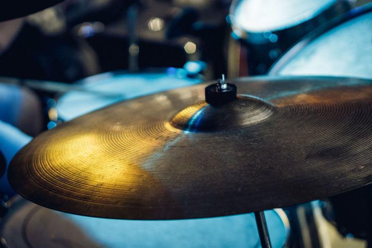 Close-up of cymbal
