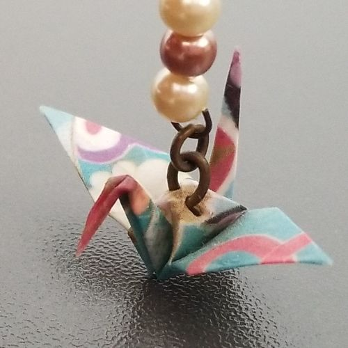 origami 折り鶴 折り紙 Crane Origami Crane Close-up