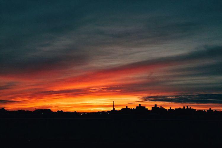 Enjoying The Sunset Sunset Nature