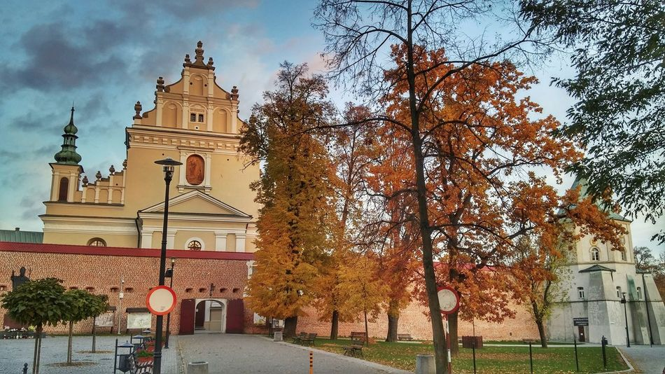 Tree Sky City No People Architecture Outdoors Leżajsk Podkarpacie Monastery Church Poland Polska History Historical Building Catholic Church Religious Architecture Religia Christianity Beautiful Scenery LGg3photography Mobilephotography LGG3 Eyeemphoto EyeEm Gallery EyeEm Best Shots