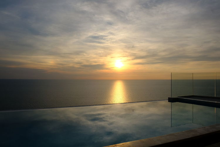 Pool Mirrow Sky Water Sunset Cloud - Sky Scenics - Nature Sea Tranquility Beauty In Nature Tranquil Scene Horizon Over Water Horizon Reflection Sun Nature No People Orange Color Sunlight Idyllic Outdoors Swimming Pool Rooftop Infinity Pool Sunset_collection Sunset #sun #clouds #skylovers #sky #nature #beautifulinnature #naturalbeauty #photography #landscape Pool Poolside Sunlight Clouds Clouds And Sky Cloudscape Clouds & Sky Cloudsporn Mirrow Mirrow Efect Mirrow On The Wall Tell Me Your Secrets Mirrow View Mirrowreflection Water Reflections Water_collection EyeEm Best Shots EyeEm Nature Lover EyeEmNewHere