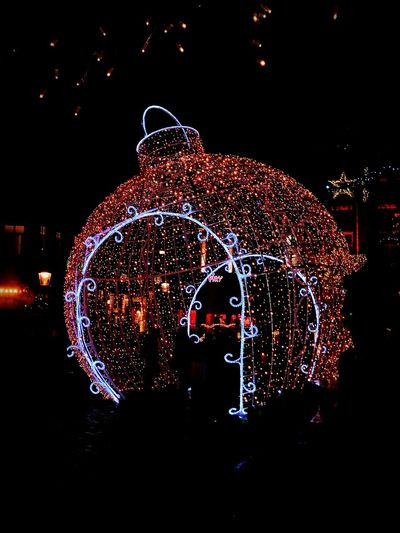 Illuminated Night Outdoors Magisch Maastricht EyeEmNewHere Midnight No People Christmas Decoration Christmas Multi Colored EyeEmNewHere