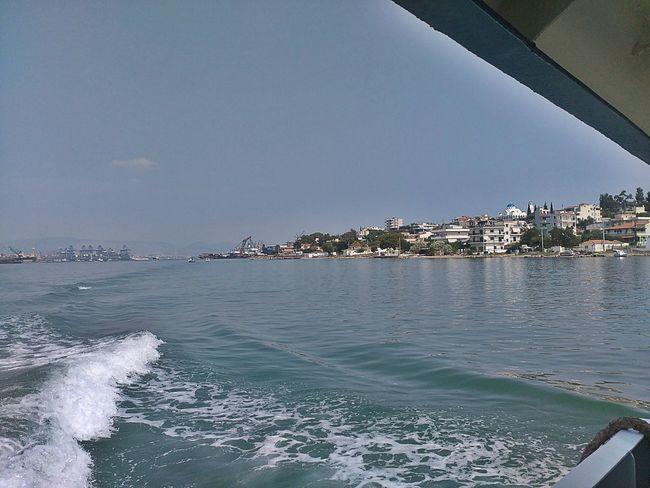 Travel to Salamina... Sea Water Day Salamina Salamis GREECE ♥♥