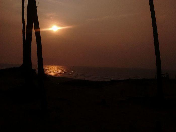 The molten sun