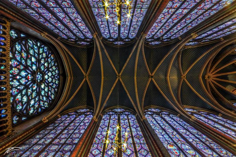 Arch Architectural Detail Architecture Architecture Built Structure Ceiling Church Illuminated Interior Multi Colored Wide Angle Window