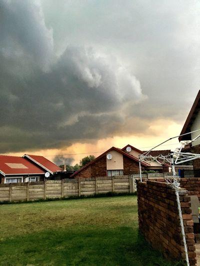 Weatherporn Tornado Birth Suspicious cloud formation in Middelburg