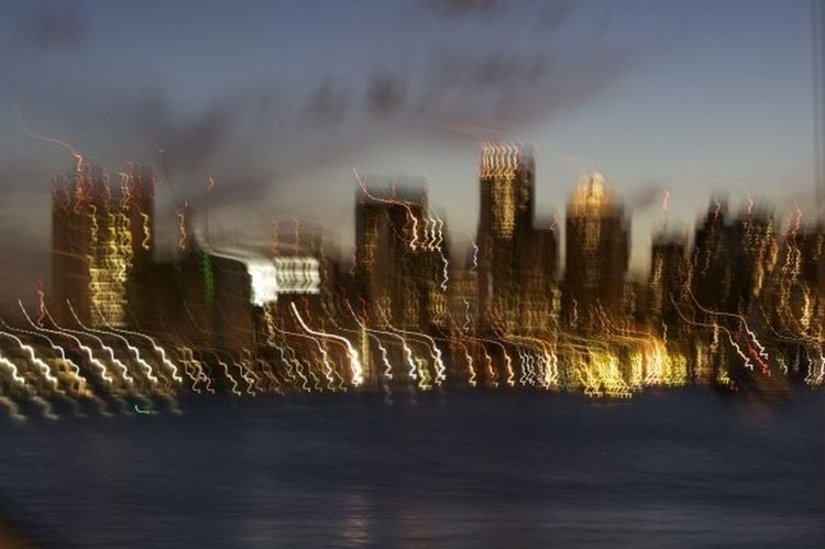 Cityscapes long exposure