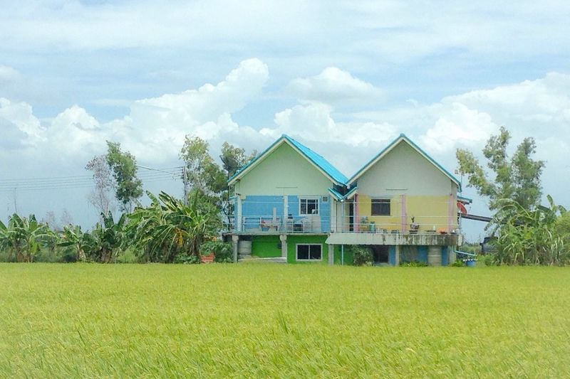 Home Is Where The Art Is Vivid Random Eye4photography  EyeEm Gallery Enjoying Life Hello World Hanging Out Taking Photos Getting Inspired Tadaa Community Photography Nature EyeEm Best Shots Traveling Thailand Green Clouds And Sky Local Rural Scene