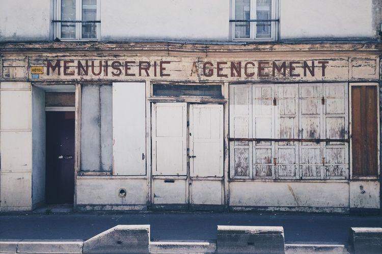 Menuiserie Vintage Shop Woodworking Paris Agencement Ancient Retro