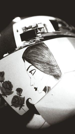 Drawing Enjoying Life Painting Girl Roses Hello World Relaxing Mine Good Times Fabulous