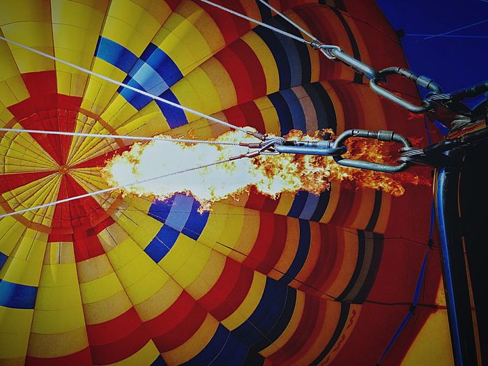 The Color Of Sport Multi Colored Hanging Low Angle View Colorful Variation In A Row Group Of Objects Outdoors Day Large Group Of Objects No People Abundance Creativity Heat Fire Tourism Sport Mode Of Transport Solitude Vibrant Color Check This Out