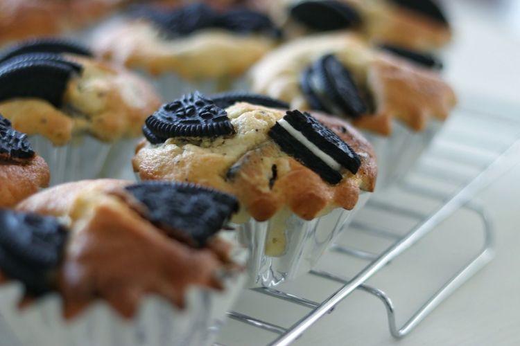 オレオマフィン。 手作り EyeEm EyeEm Gallery Eyeemphotography おやつ Sweets スイーツ ケーキ Cake Japan 日本 Close-up Sweet Food Cake