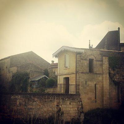 Centre ville Saint Emilion Wine French Bordeaux