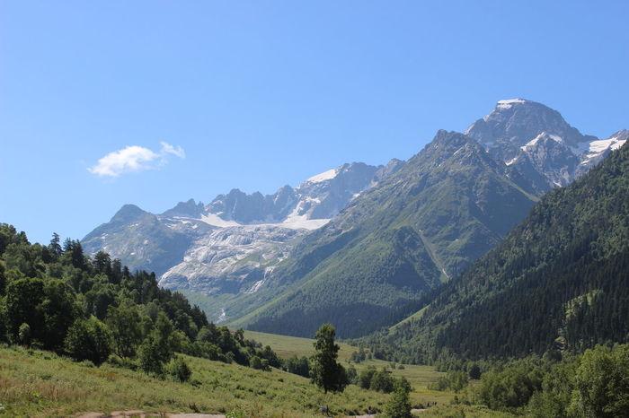 Fall Kavkaz Mountains Nature Russia Water Кавказ Софийская вершина