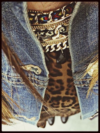 Animalier Fashion Photography WorkDenim Jacket #jeans #love #style #top #collana