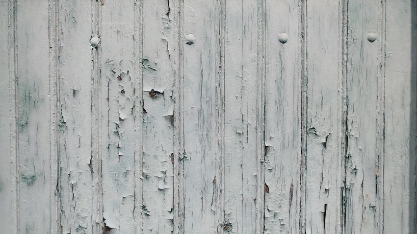 Pattern Backgrounds Textured  Wood - Material Weathered Full Frame Paint No People Outdoors Day White
