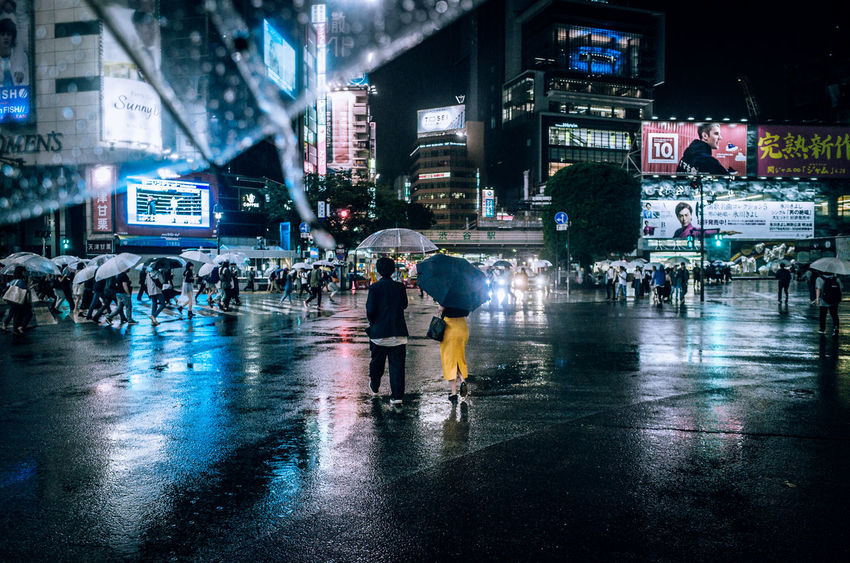 From My Umbrella ◀️☔️🌃 Love Actually Shibuyascapes Dreamer's Vision City Atmospheric Mood 100 Days Of Summer Fragility From My Point Of View Lifestyles On The Way Outdoors People Rainy Days Road The Journey Is The Destination Umbrellas Urban Exploration Wet Japan Shibuya Walking Around Let's Go. Together. Sommergefühle EyeEm TOA 2017 EyeEm Selects Modern Love Stories From The City End Plastic Pollution Adventures In The City Focus On The Story HUAWEI Photo Award: After Dark Urban Fashion Jungle
