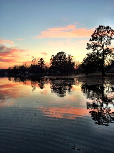 Sky Still Water