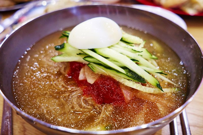 South Korea Food Porn Awards Food Porn Korean Food Korean Cold Noodle QX1 Sigma19mmArt My World Of Food