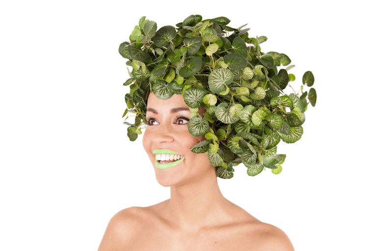 Cabbage Lettuce Close-up Green Hair Haardracht Hair Styles Hydro Grains Ivy Leaves Leaf Lifestyles Nature Woman Peacock Feathers Person Plant Savoy Cabbage Vegetable Hair First Eyeem Photo