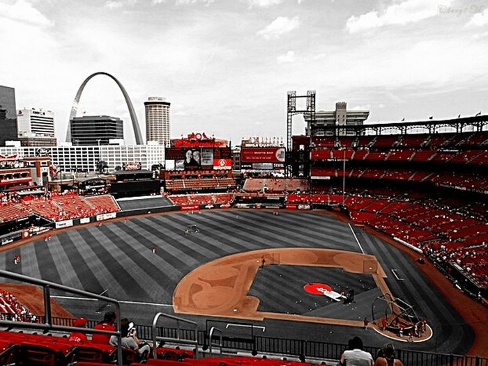 Day 5 Colorsplash challenge ... I colorsplashed Busch Stadium when went to the Baseball game this Summer..... I don't know who to challenge now .. I think I was one of the last to do this ??? .... If anyone wants to take on this challenge. 5 Shot Colour Splash Challenge Colorsplash Taking Photos Streamzoofamily