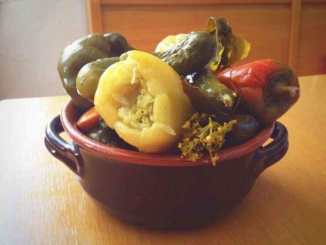 Vegetables Vegetarian Food Vegetable Pickles Pickled Romania Romanian Food Table Food Tradition