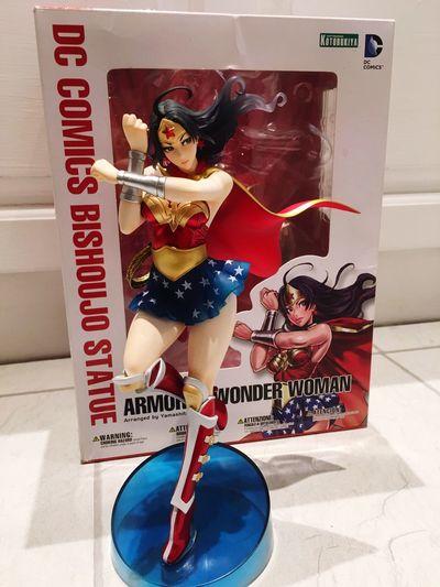 My Wonder Woman Bishoujo Wonderwoman Bishoujoheaven Bishoujo Kotobukiya Statue Figure