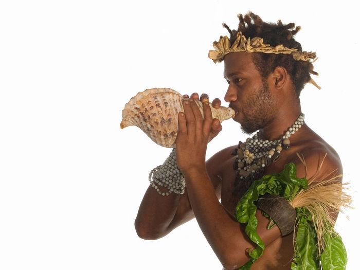 Futuna Island Vanuatu Basket Beach Beard Beauty Blue Sky Blue Water Facial Hair Fruit Futuna Island Holding Melanesia Men One Man Only One Person Only Men Pacific Ocean Touching Tourism Travel Destinations Vanuatu Vivid International White Background Woven Baskets