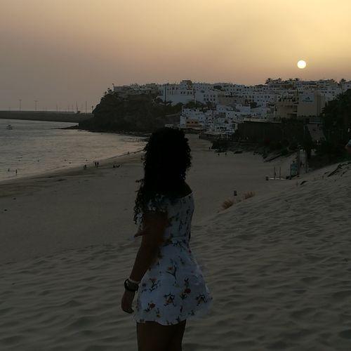 Beach Sunset Silhouette MyLove❤