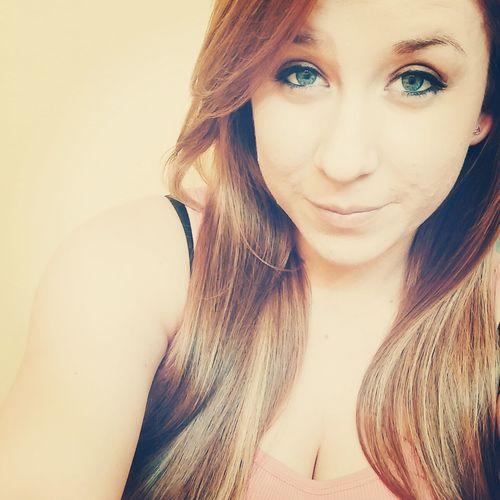 Blonde Selfie Greeneyes Hi!