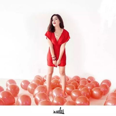 99 red balloons TheSXYS Love Girl Cute beautiful instagood photooftheday fashion like follow #model red