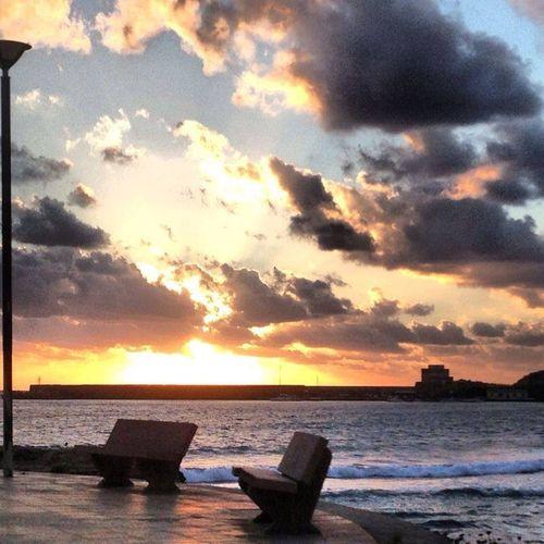 Tramonti indimenticabili Water Sky Cloud - Sky Sunset Sea Scenics - Nature Beauty In Nature Tranquility No People Horizon Over Water Horizon Nature Idyllic