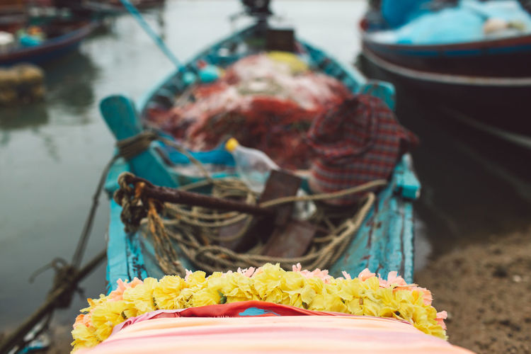 Food And Drink Focus On Foreground Belief Food Day Nautical Vessel Religion Freshness Transportation Multi Colored Celebration Floral Garland Outdoors Selective Focus Close-up Flowering Plant Mode Of Transportation Retail