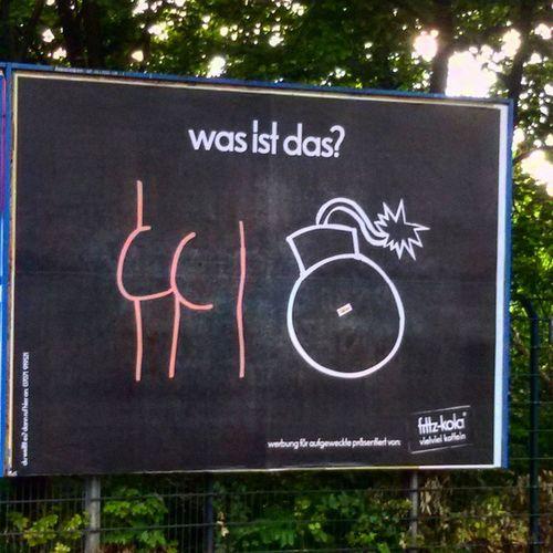 Berlin Street Advertising Wasistdas