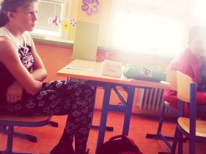 In School čum si do svýho hej!^_^:DDD