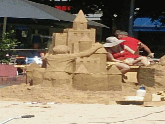 Hannover Today Home Citylife Sand Art