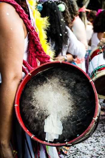 Carnaval in Brasil Adult Arts Culture And Entertainment Brazil Brazil Carnaval Carnaval Carnival Drum - Percussion Instrument Drummer Music Musical Instrument Musician People Percussion Instrument Traditional Clothing Carnival Crowds And Details Carnival Crowds And Details