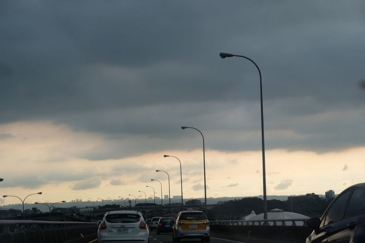 Car City Cloud - Sky Day Mode Of Transport Sky Street Light