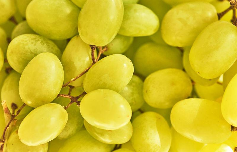 Full frame shot of grapes for sale in market