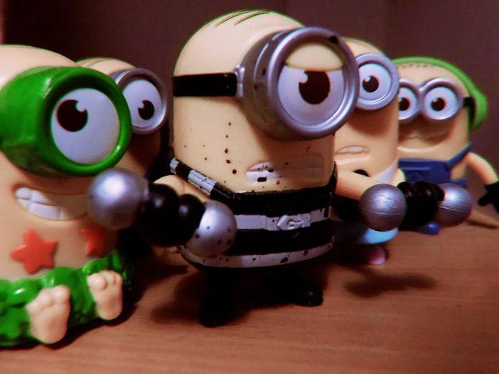 Minions MinionsEverywhere Banana Minions ™ Minionsworld Minions Still Life Indoors  Close-up No People Toy Table