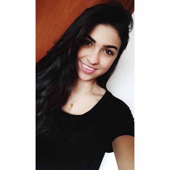 Selfie ♥ Smiling I Smille No Matter What Long Hair BrasilianGirl Love