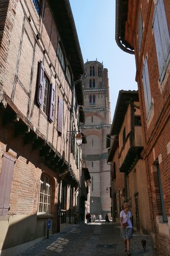 Streetphotography Street Photography Street Albi Cathédrale D'albi Cathedral Old Town Old Street