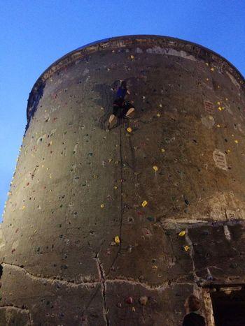 Safety First! Rock Climbing Climbing