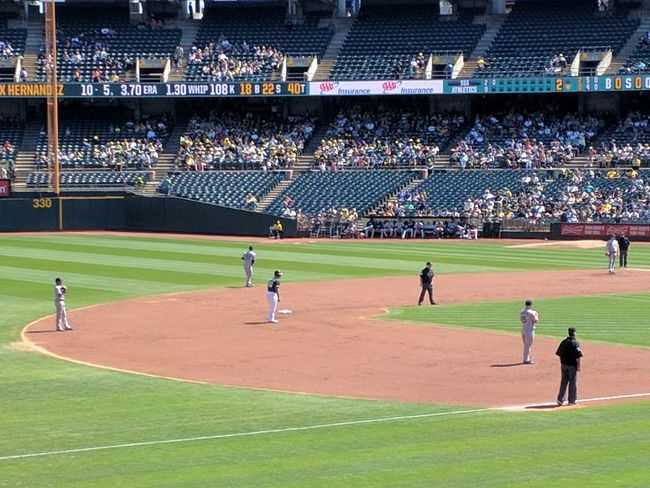 Oakland A's Game 2016© Oakland A's OaklandAthletics Oakland, CA Americas Pastime Baseball Photography Play Ball! Outdoor Photography