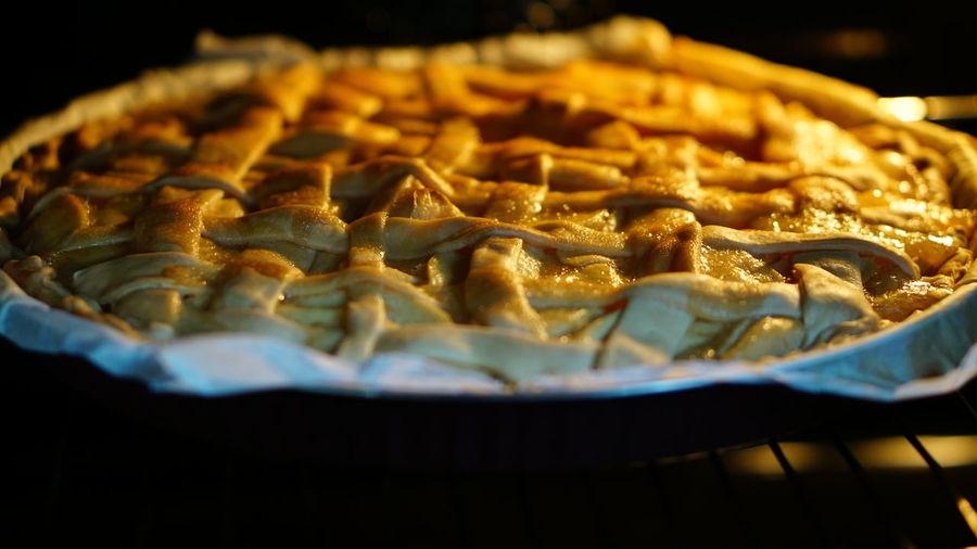 Close-up of pie