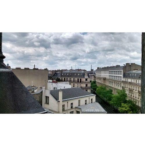 View from ParisFranceHotel HDR 5MPs Motog ItsHowYouUseIt Paris France SizeDoesntCount RuDeTurbigo