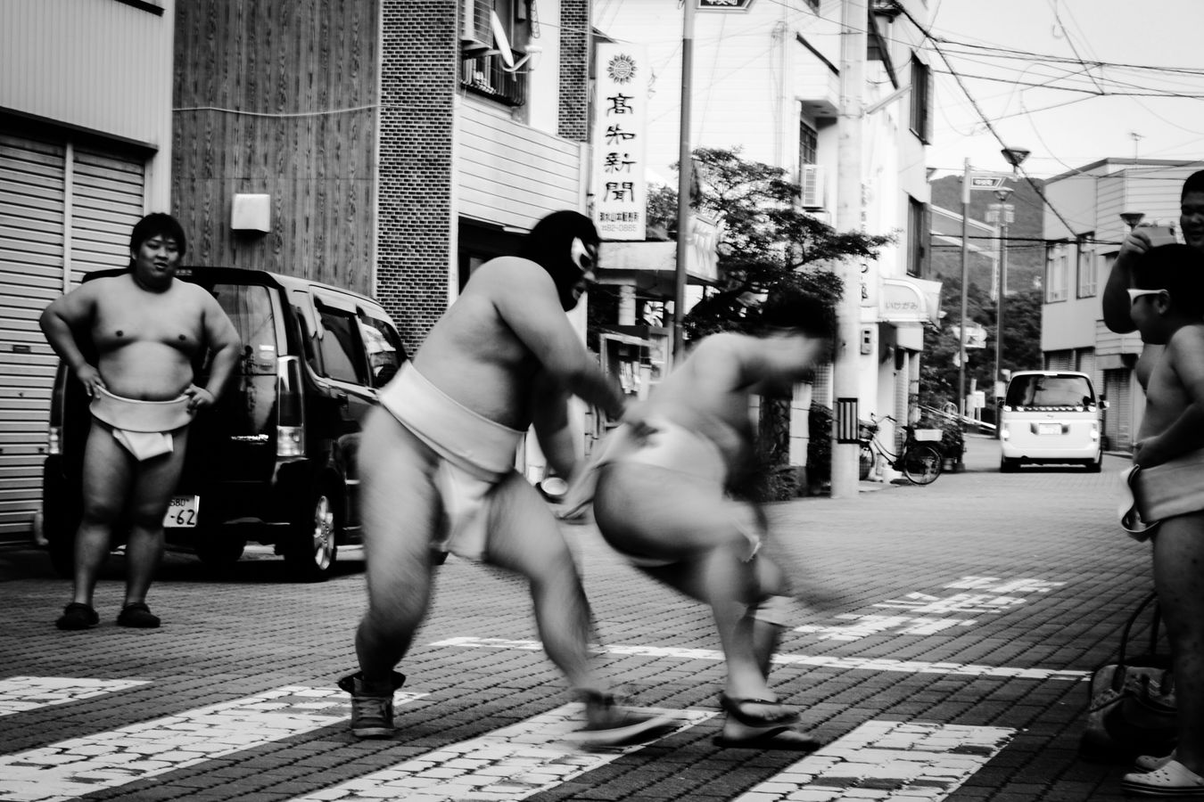 Streetphotography Blackandwhite Black & White Japan Sumou