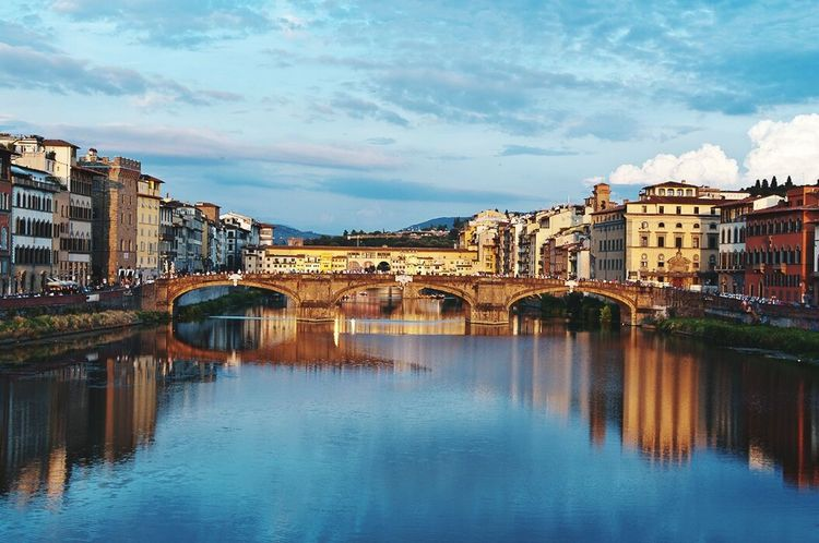 Ponte Vecchio Arno Florence Relaxing On The Road Travelling Quality Time Hello World Enjoying Life Hi! The Week Of Eyeem Popart Kunst