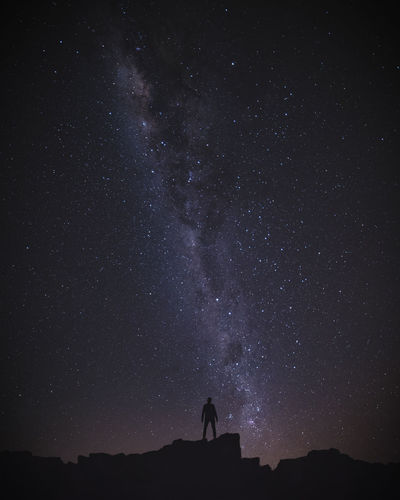 Dream. Nightphotography Milkyway Long Exposure